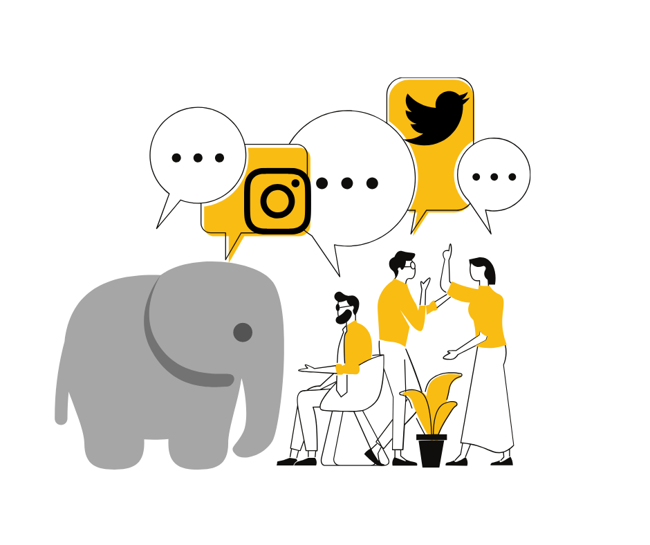 The Elephant in the Room: Why I Left Social Media and Why I'm Back